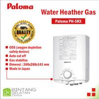 WATER HEATER PALOMA GAS PEMANAS AIR LOW PRESSURE / PALOMA PH5RX (M)