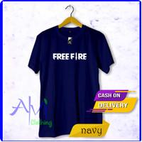 kaos distro game free fire / diatro murah /kece kekinian / baju
