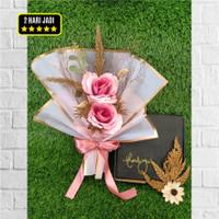 Hand bucket - buket bunga - hand bouquet - bunga wisuda - buket