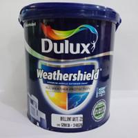 DULUX WEATHERSHIELD BRILLIANT WHITE 2.5L [ GALON ] / CAT TEMBOK