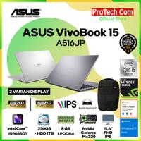 ASUS VIVOBOOK A516JP i5-1035G1 8GB 256GB + 1TB MX330 2GB 15.6 OHS W10