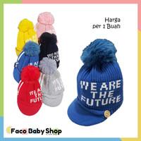 Z10 Topi Bayi Balita Rajut Warna Penutup Kepala Lucu Baby Hat Kupluk