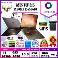 ASUS TUF GAMING FX506LH 144Hz i5 10300 8GB 512ssd GTX1650 4GB W10+OHS