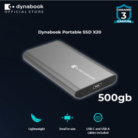 Dynabook Portable SSD X20 500 GB - FREE FLASHDISK 32GB