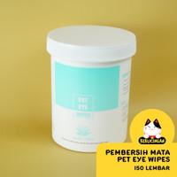 Pet Eyes Wipes Tisu Pembersih Mata Kucing Anjing Dengan Aloe Vera