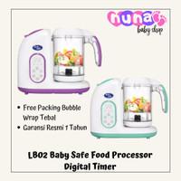 LB02 Baby Safe Digital Food Processor Steamer Blender Babysafe Lb02b