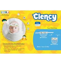 Clency Face Mask Shield Baby Newborn / Protektor Wajah Bayi - Tali