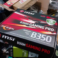 MSI B350M Gaming Pro AM4 Motherboard for Ryzen DDR4