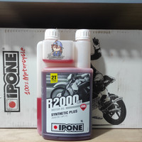 IPONE R2000 RS 2T 1L strawberry/ OLI SAMPING/IMPORT PREMIUM/100% ASLI