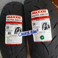 BAN LUAR NMAX PAKET DEPN DAN BLKNG 110/70-13 & 130/70-13 MAXXIS TUBLES