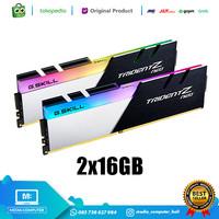 RAM 32GB GSKILL DDR4 2x16GB F4 3200C16D 32GTZN TridentZ Neo