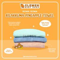 Rilakkuma Pineapple Towel by Kuma Kuma (Handuk Bayi Premium)