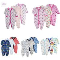 Baby Sleepsuit Motif Random 3 pcs
