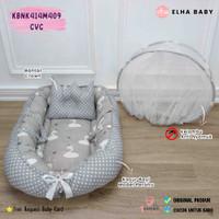 🌸BeeL shop🌸 Kasur Bayi Perahu Baby Nest Kelambu Kasur Bayi Kolam