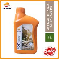 REPSOL MXR Matic Platinum 4T SAE 10W-40 API SN JASO MB 1L