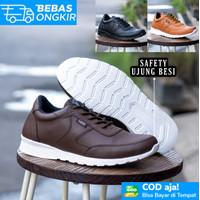 Safety Casual Shoes Ujung Besi Lavio Lexa Ringan Keren Anti Slip