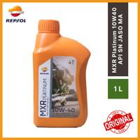 REPSOL MXR Platinum 4T SAE 10W-40 API SN JASO MA 1L