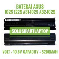 Baterai Asus Eee PC 1025 1025C 1225 1225C 1225B A32-1025 BLACK
