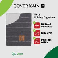 Cover Sampul Sarung Al-Quran AlQuran Quran Kain A6 Kecil - Signature