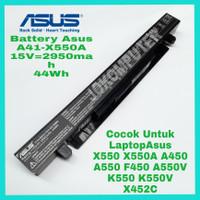 Baterai Batre Batrai Ori Laptop Asus A450 A450C A450L A450LA A41-X550