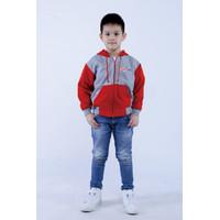 Jaket anak laki laki karakter superhero untuk usia 2-10thn BISA COD