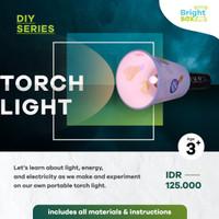 PLAY & LEARN BOX - DIY STEM SERIES - MAKING TORCH LIGHT
