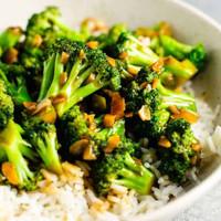 Broccoli with Garlic (S)