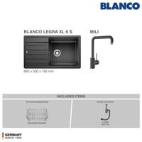 BLANCO Legra XL 6S Silgranit Kitchen Sink - Paket Promo 1