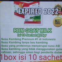RBM Goat Milk Susu Kambing ETAWA 250gr