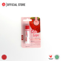 Viva White Moisture Balm Chic On Lips - Stawberry Inside (Daily Use)