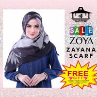 Kerudung Hijab Jilbab Segi Empat Motif Zoya Zayana Scarf Segiempat 4