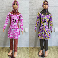 Baju Renang Muslimah anak 7-9 Tahun Motif