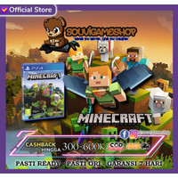 PROMO !! PS4 MINECRAFT STARTER COLLECTION CD GAME BD PS 4 Eng