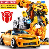 Robot Transformer Optimus Primer Bumblebee Bisa berubah jadi mobil