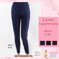 """Lenora – Legging hamil panjang """"Yen-yen"""" kaos """"tebal jumbo"""""""