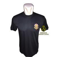 Kaos Dalam Pol PP Logo Kecil Hitam l Baju Oblong Polos