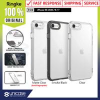 Case iPhone SE 2020 / 8 / 7 Ringke FUSION Anti Crack Clear Case
