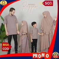 Sarimbit Keluarga Pakaian Muslim Family Set Baju Couple Choco Rayyan