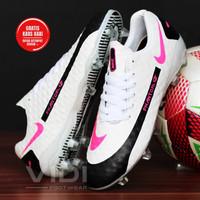 Sepatu Sepak Bola Nike Phantom GT Elite Blast Pink White