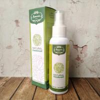 Hamoona Hijau Deodorant Spray - Natural