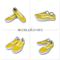 Sepatu Vans Authentic OLDSKOOL OLD SCHOOL YOLK YELLOW [PREMIUM QUALITY - Oldskool Kuning, 36