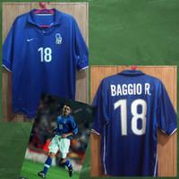Jersey Ori Italia 98, BAGGIO #18