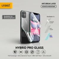 Uneed Hybrid Pro Anti Break Screen Protector Handphone Full Cover