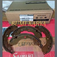 Kampas Rem Brake Shoe Belakang Datsun Go Original