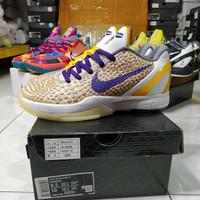 Sepatu Basket Nike Kobe 6 Protro Low 3D Lakers