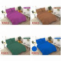 Bedcover Set FATA King Size - Motif Jacquard Polos (Embos)