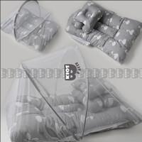 Kasur Kelambu Bayi Set FREE Bantal Guling Premium / Kasur Lipat Kelamb