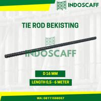 Tie Rod Bekisting 16mm - 1 Meter