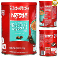 Nestle Fat Free Rich Milk Chocolate Hot Cocoa Mix 7.3oz Canister 208gr