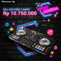 Promo Pioneer DJ DDJ-SX3 DDJSX3 DDJ SX3 Free T-shirt Controller Mesin